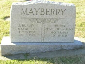 Mayberry,JBurley&NMcCollisKemp