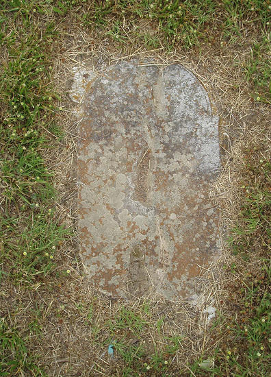 3F - Dick, James (Dick Cemetery Marker 6)