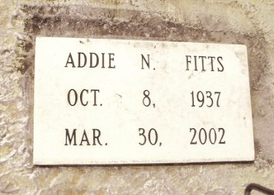 Addie Newell Fitts