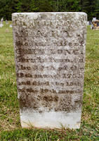 Mary Clark, 1st wife of John Long, died 1815