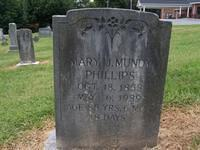 Phillips,MaryJMundy