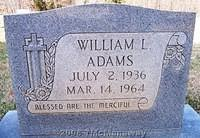 Adams, William L