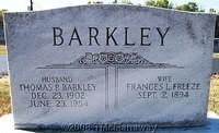 Barkley, Thomas P