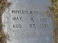 Phyllis A Rogers
