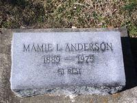 Anderson, Mamie L